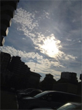 7月21日今日は雲が多いです