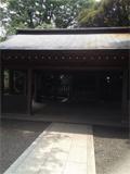 7月27日天赦日 国学院大学の神社ご祭神は、天照大神とっても静かなたたずまいです