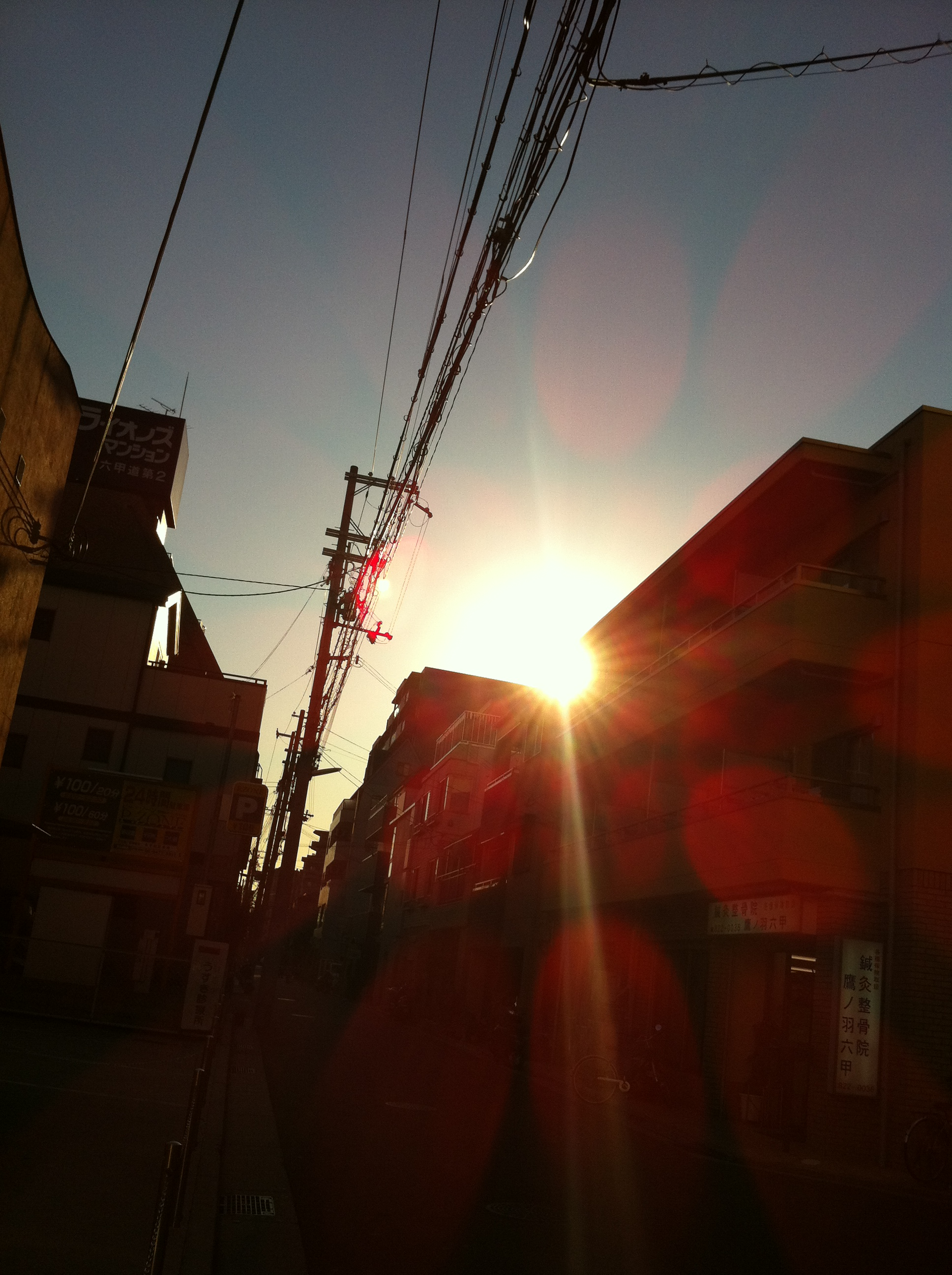 2011年10月27日 綺麗な光です。