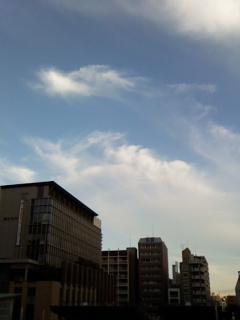 2010年5月26日 自宅近くで撮った龍の雲