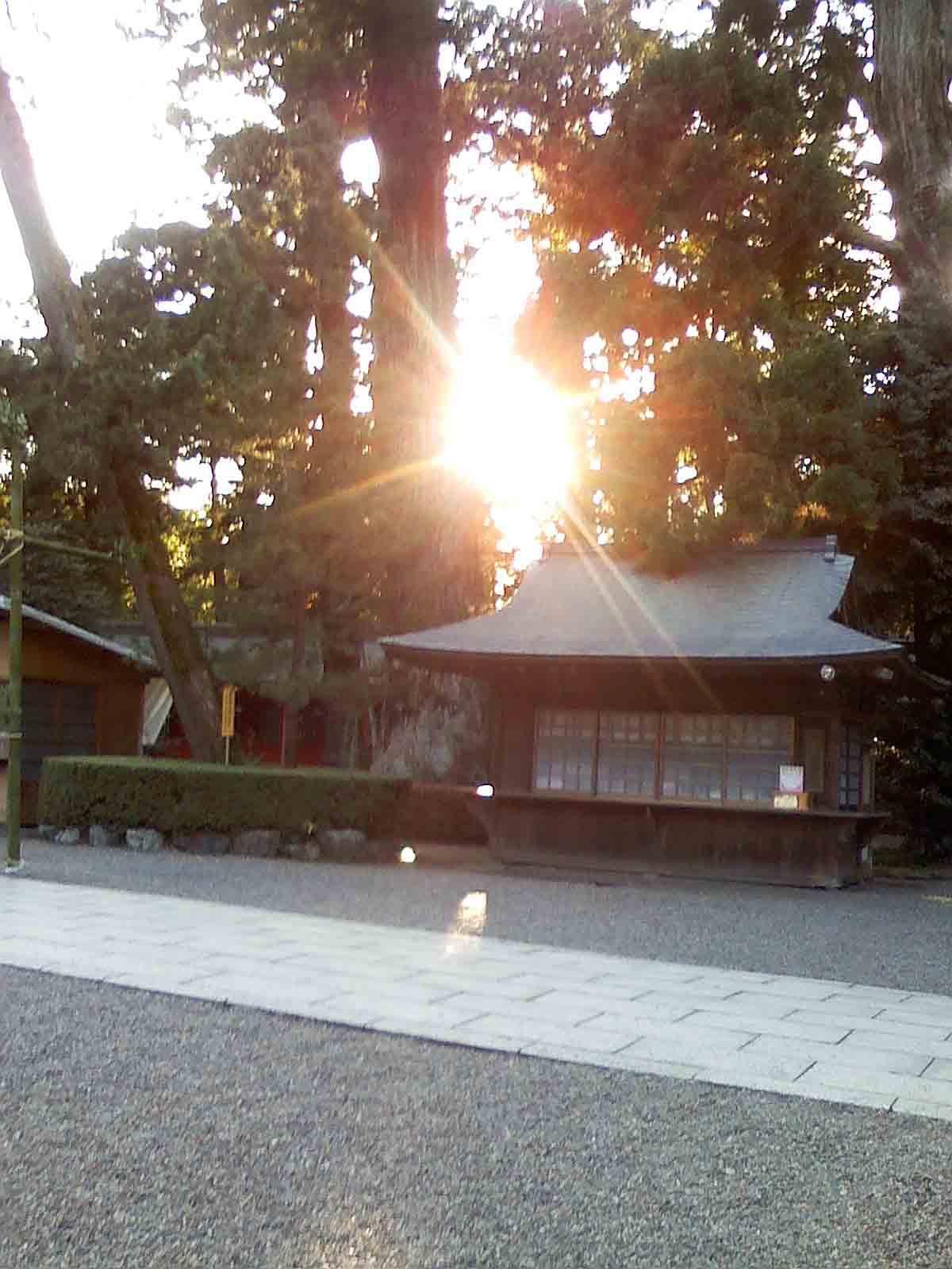 2010年12月17日 この日は、大阪市内の神社に 寄りました。