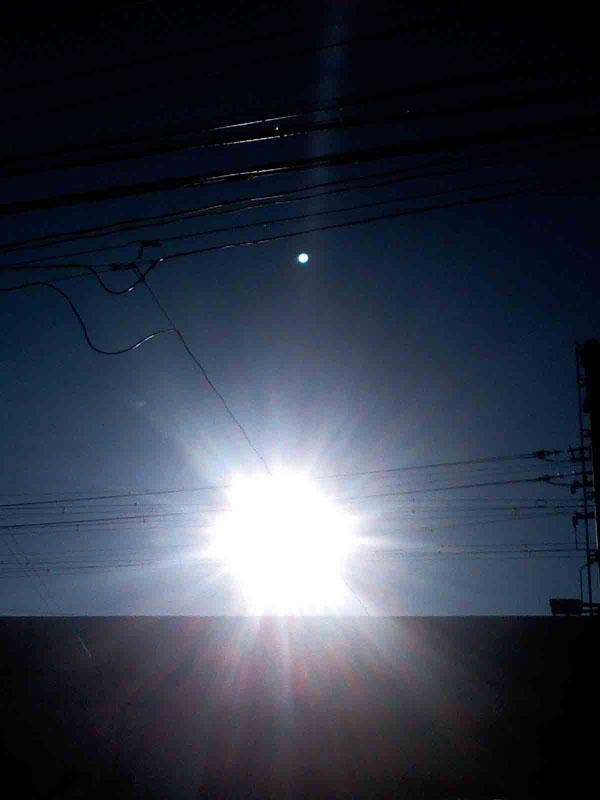 2011年1月7日  とってもエネルギッシュな光ですね