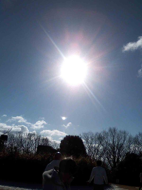 2011年1月10日 見晴らしも良く 太陽もエネルギッシュ!