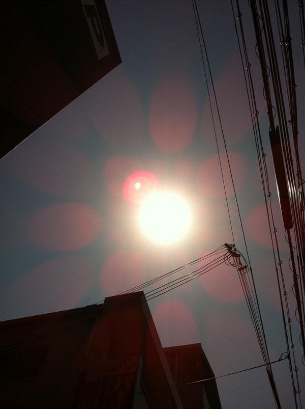 2011年4月14日 自宅近く 気持ちの良い天気です
