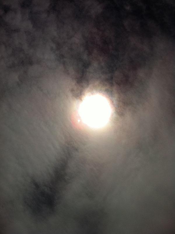 2011年5月24日 この日も雲の多い日でした