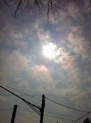 2012年3月6日 雲が多いですね
