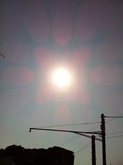 2012年4月15日  やっと雲が切れて、 晴れてきました