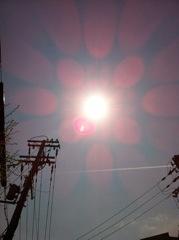 2012年4月18日  よく晴れていました。