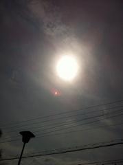 2012年4月21日  雲が多いですね