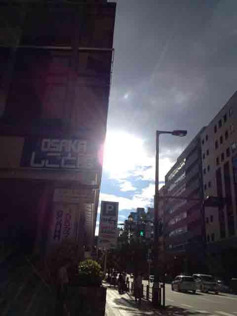 8月4日 雲が多い日でした