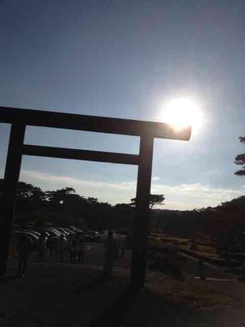 10月19日 夕日を撮りました