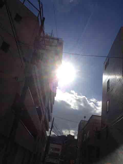 1月26日 太陽があると暖かい