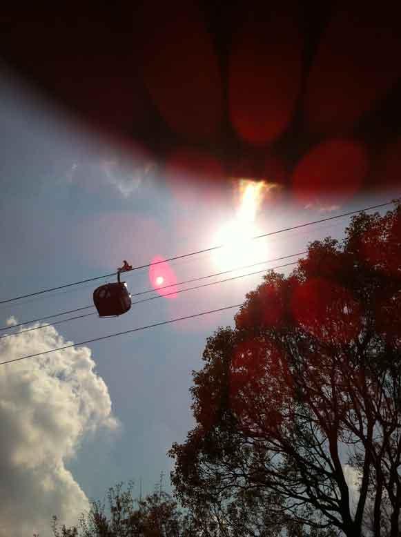 2011年4月24日 その後1時間ぐらいして太陽を 撮ったら、こんな写真でした。