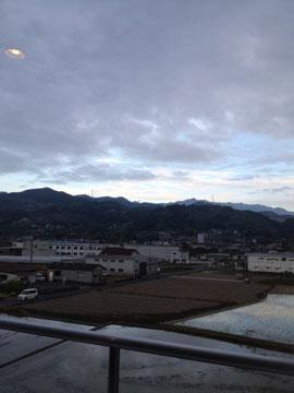 10日和歌山県橋本市で、風景を撮ったら、 写っちゃいました!!!