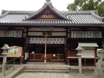 11日橋本市の帰りにちょっと寄り道 住吉大社の奥の院として創られたとか