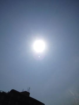7月12日 太陽の輪は毎日出ています